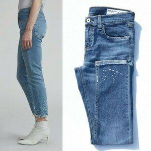 ⚡️rag & bone Dre Capri Boyfriend Ankle Jeans 26